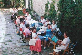 Curso de verano en la Escuela de Encajes de Mariña Regueiro