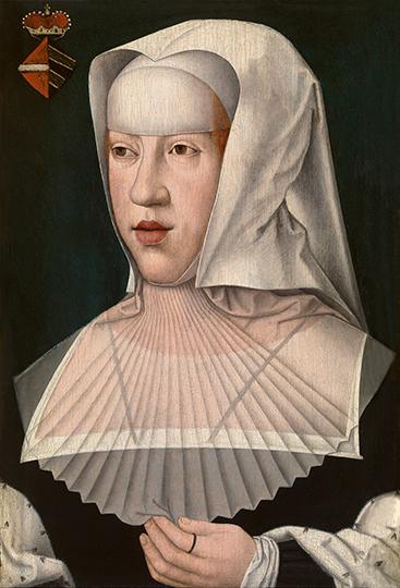 Retrato de la Princesa viuda de Asturias y de Gerona ,hermana menor de Carlos V .Bernaert van Orley,1491-1542.