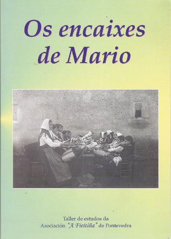 Portada de Os encaixes de Mario, por Mariña Regueiro